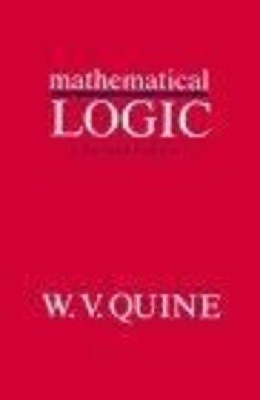 Mathematical Logic, Revised Edition