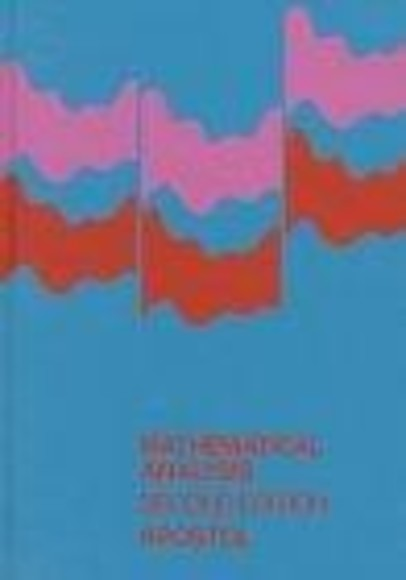 Mathematical Analysis, Second Edition