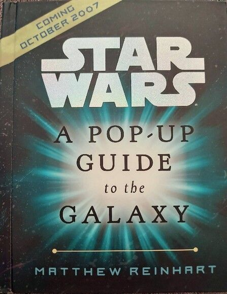 STAR WARS A POP UP GUIDE TO THE GALAXY Promo card