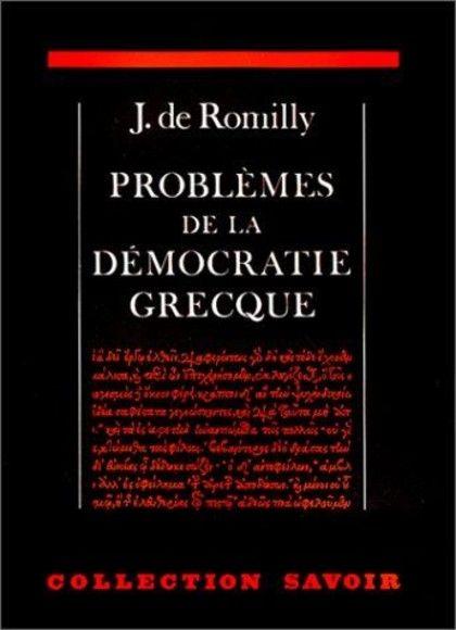 Problèmes de la démocratie grecque
