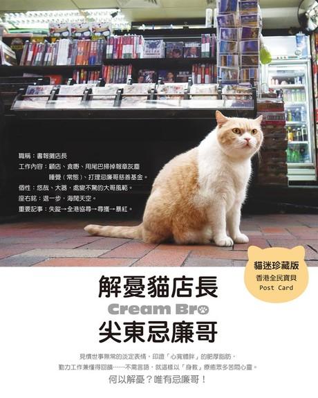 解憂貓店長:尖東忌廉哥