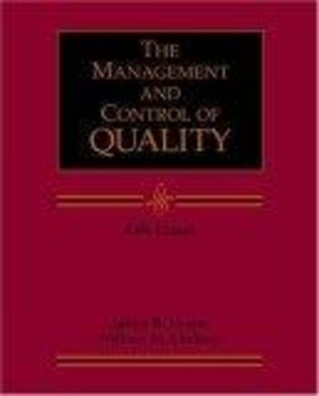 Management and the Control of Quality with Student CD-ROM