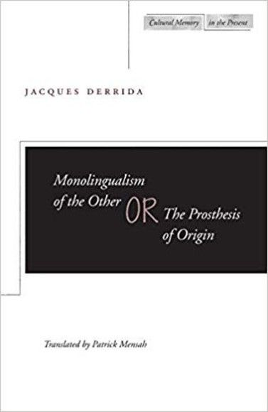 Monolingualism of the Other