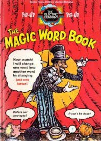 The magic word book, starring Marko the magician!