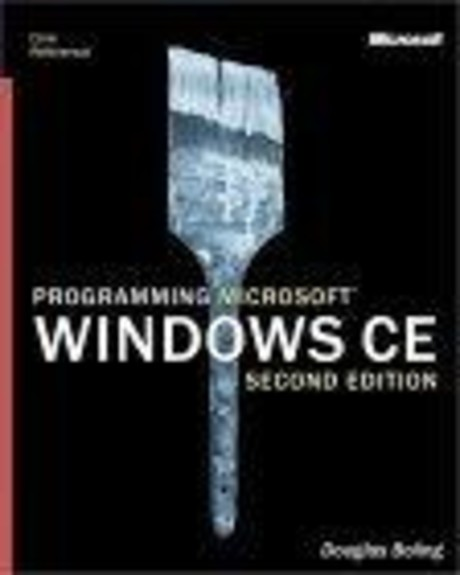 Programming Microsoft   Windows  CE, Second Edition