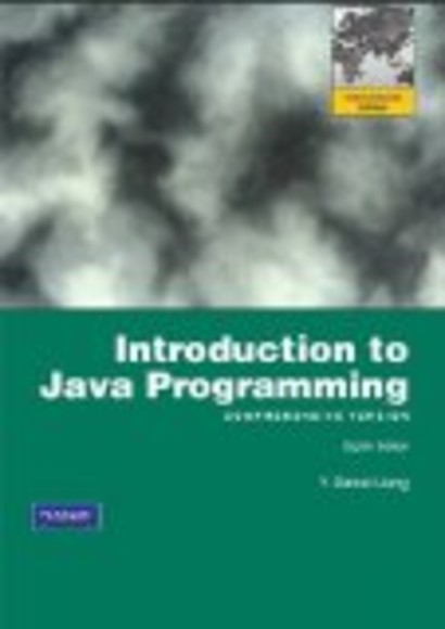 Introduction to Java Programming, Comprehensive