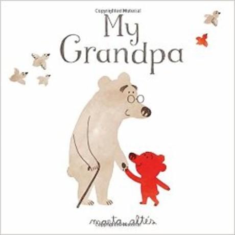 My Grandpa 爺爺與我 平裝繪本故事書(外文書)