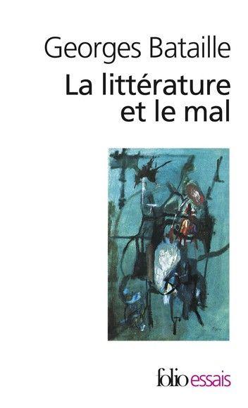 La litterature et le mal