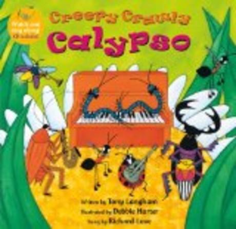 Creepy Crawly Calypso:蟲蟲搖滾派對(附CD)(外文書)