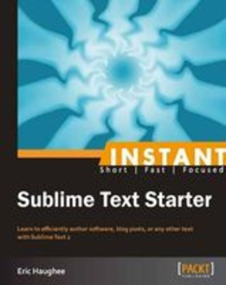 Sublime Text Starter