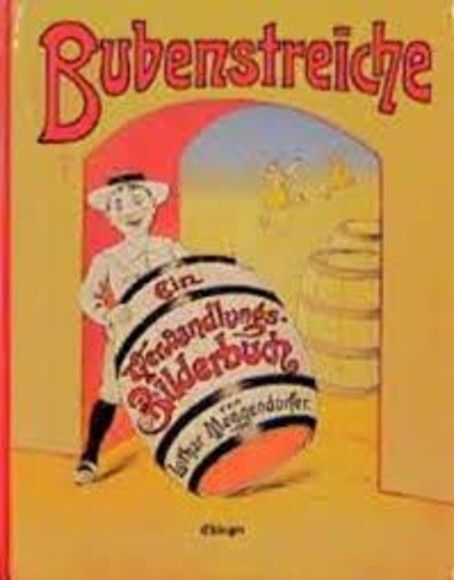 Bubenstreiche : ein Verwandlungsbilderbuch