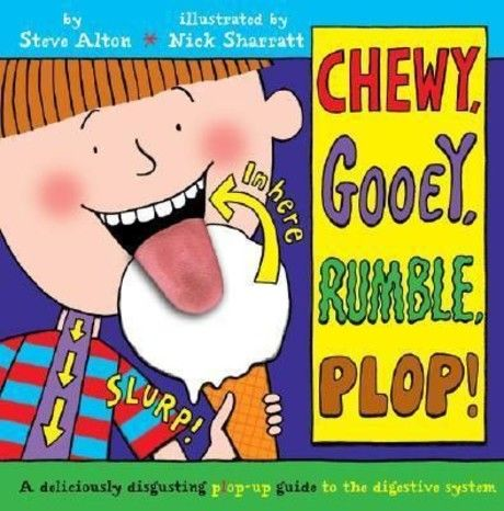 Chewy, Gooey, Rumble, Plop