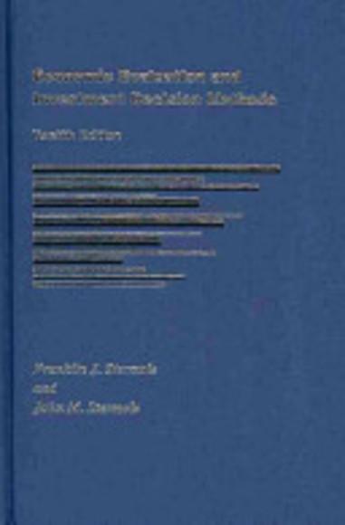 economic evaluation and investment decision methods stermole pdf