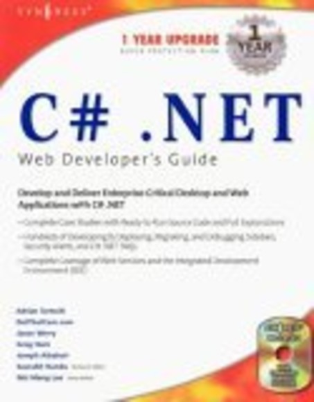 C#.net Web Developer's Guide