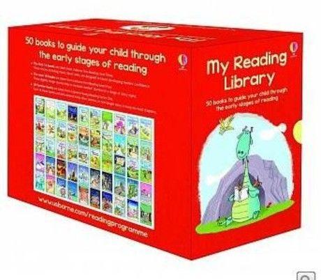 我的小小外文圖書館套書《My Reading Library》(初階全套50本)