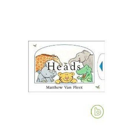 Heads  動物搖搖頭(拉拉觸摸書)(厚頁書)(外文書)