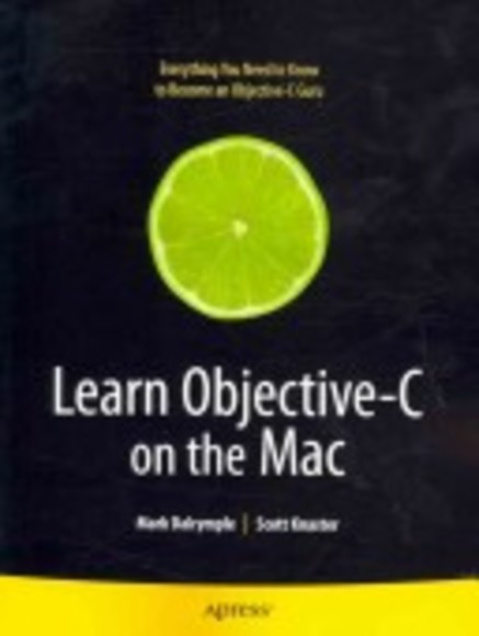 Learn Objective–C on the Mac