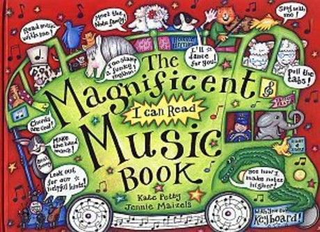 The Magnificent I Can Read Music Book