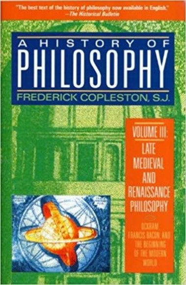 A History of Philosophy(Volume 3)