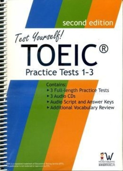 新多益擬真評量 (1)~(3)Test Yorself! TOEIC Practice Tests 1~3