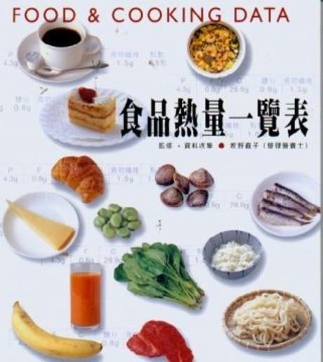 FOOD&COOKING DATA食品熱量一覽表