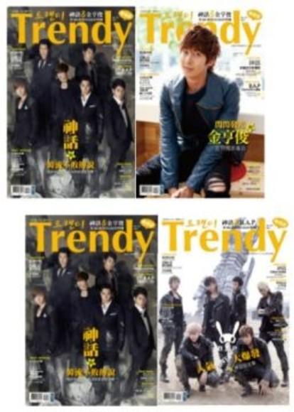 TRENDY偶像誌NO.35 :超值加厚88頁版